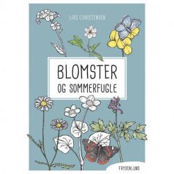 Blomster og sommerfugle