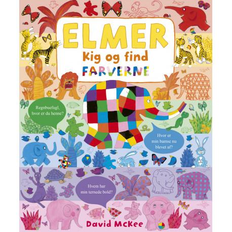 Elmer - Kig og find: Farverne