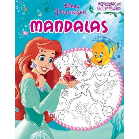 Disney Ariel Mandalas: Ariel Mandalas - en kreativ malebog!