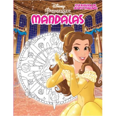Disney Belle Mandalas: Belle Mandalas - en kreativ malebog!
