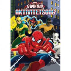 Marvel Spider-Man Malebog: Ariel Mandalas - en kreativ malebog!
