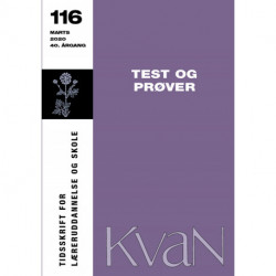 KvaN 116: Test og prøver