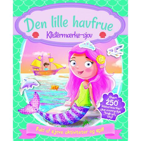 Aktivitetsbog med stickers - Den lille havfrue