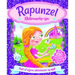 Aktivitetsbog med stickers - Rapunzel