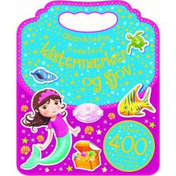 Aktivitetsbog med stickers - Havfruer
