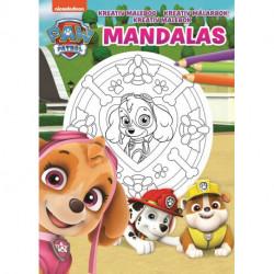 Nickelodeon Paw Patrol Skye Malebog: Ariel Mandalas - en kreativ malebog!