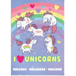 I love Unicorns: Unicorn Malebog
