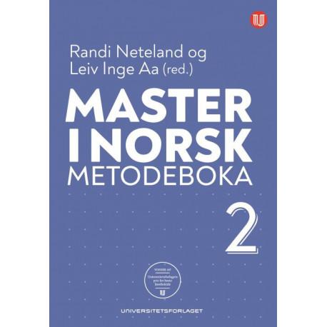 Master i norsk : metodeboka 2