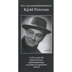 Revy- og grammofonpladekunstneren Kjeld Petersen: 4 Cder med alle Kjeld Petersens pladeindspilninger og sjældne liveoptagelser 1945-62