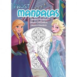 Frost Mandalas: Frost Mandalas - en kreativ malebog!