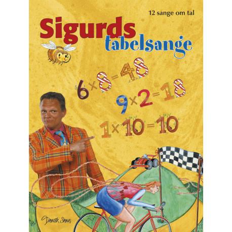 Sigurds tabelsange: 12 sange om tal