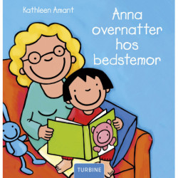 Anna overnatter hos bedstemor