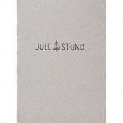 Julestund: salmer og sange - Æske m 9  hæfter