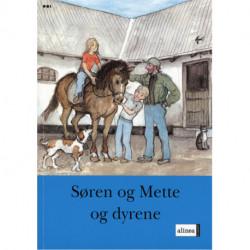 S og M-bøgerne, 2. Trin 1, Søren og Mette og dyrene
