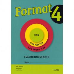 Format 4.kl. Evalueringshæfte