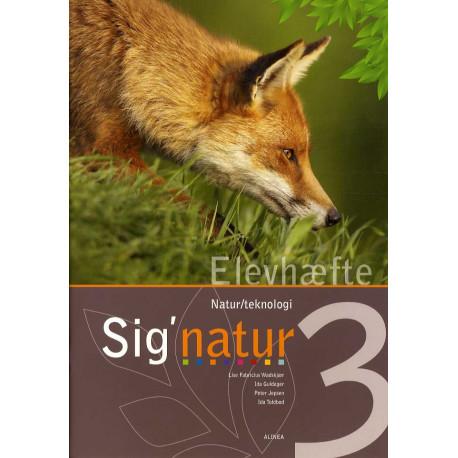Sig'natur 3, Natur/teknologi, Elevhæfte
