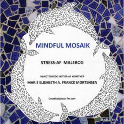 Mindful mosaik: Stress-af malebog