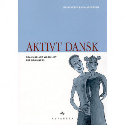 Aktivt dansk, Engelsk: Grammar and Word List for Beginners
