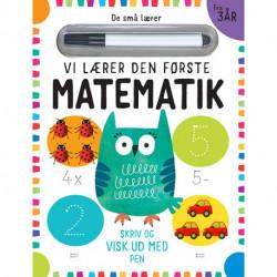 De små lærer - Skriv og visk ud - Vi lærer den første matematik: bog med ikke-permanent pen