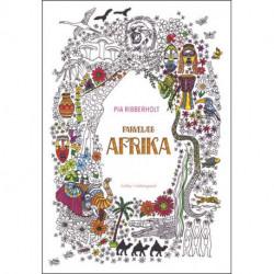 Farvelæg Afrika: En malebog for voksne
