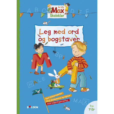 Max Skoleklar: Leg med ord og bogstaver