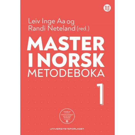 Master i norsk : metodeboka 1