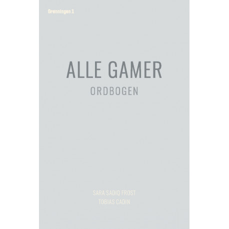 Alle gamer: Ordbogen