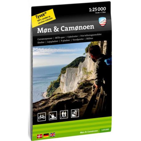 Møn & Camønoen  1:25 000
