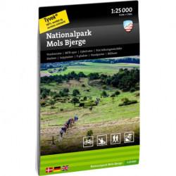 Nationalpark Mols bjerge 1:25 000
