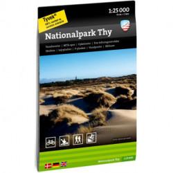 Nationalpark Thy 1:25 000