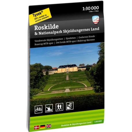 Roskilde & Nationalpark Skjoldungernes land  1:30 000