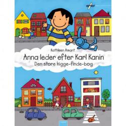 Anna leder efter Karl Kanin: Den store kigge-finde-bog