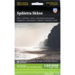 Sydöstra Skåne : 1:50 000