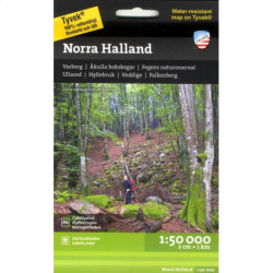 Norra Halland : 1:50 000