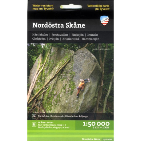 Nordöstra Skåne : 1:50 000