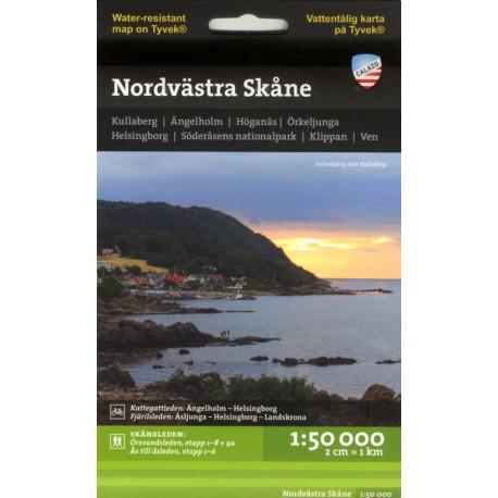 Nordvästra Skåne : 1:50 000