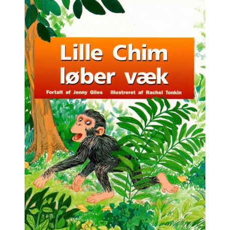 Lille Chim løber væk