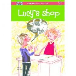 Kommas Easy Reading: Lucy's shop: Niveau 1