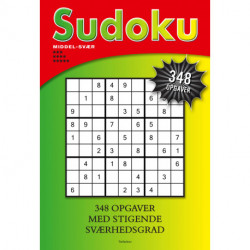 Sudoku: Middel-svær *****