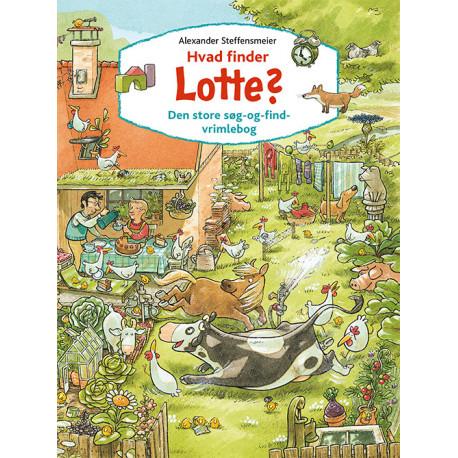 Hvad finder Lotte?: Den store søg-og-find-vrimlebog