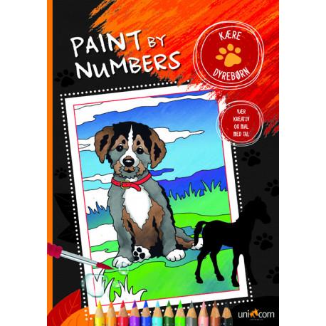 Paint by Numbers - Kære Dyrebørn