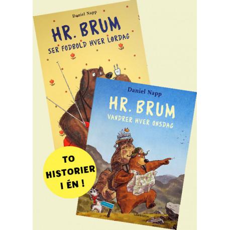 Hr. Brum ser fodbold hver lørdag og Hr. Brum vandrer hver onsdag