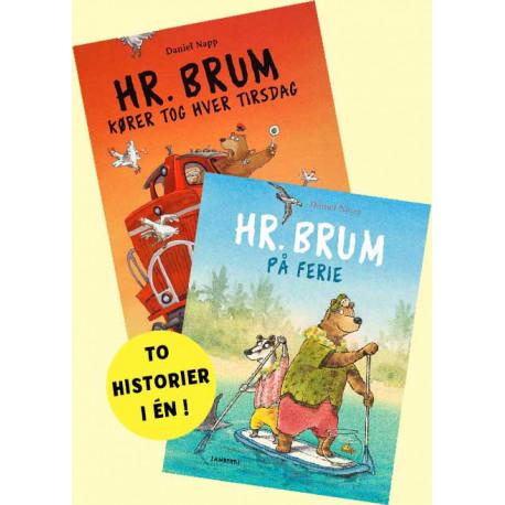 Hr. Brum kører tog hver tirsdag og Hr. Brum på ferie