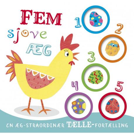 Fem sjove æg: En æg-straordinær tælle-fortælling