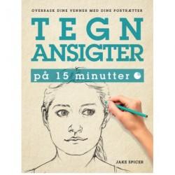 Tegn ansigter på 15 minutter: overrask dine venner med dine portrætter