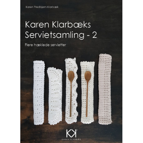 Hæklebog  Karen Klarbæks Servietsamling - 2