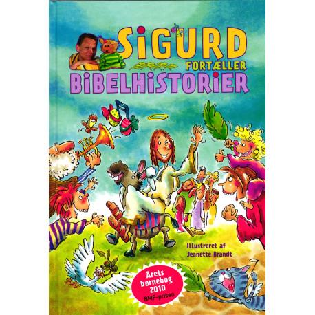 Sigurd fortæller Bibelhistorier Incl. 2 DVD'er