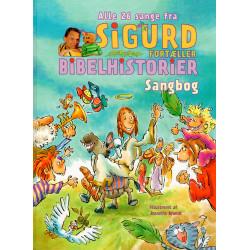 Sigurd fortæller bibelhistorier: Sangbog