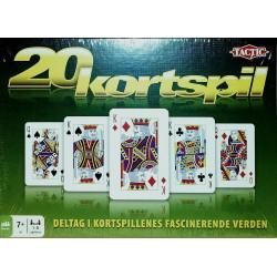 20 kortspil - Deltag i kortspillenes fascinerende verden