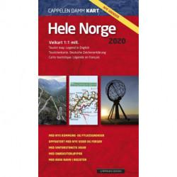 Hele Norge 2020 : veikart - tourist map - Touristenkarte - carte touristique
